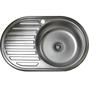 Кухонная мойка Pegas 77х50 0,6 левая, матовая (7750W L мт) угловая шлифмашина pegas tp 222