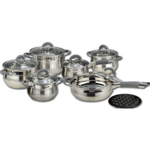 Набор посуды 13 предметов Vitesse (VS-2040) набор посуды vitesse цвет бронзовый 4 предмета vs 2216