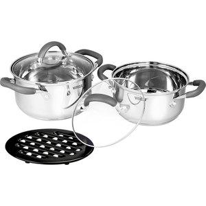 Набор посуды из 5 предметов Vitesse Ines (VS-2064) набор посуды vitesse цвет бронзовый 4 предмета vs 2216