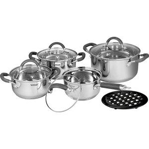 Набор посуды из 9 предметов Vitesse Ines (VS-2065) набор посуды vitesse цвет бронзовый 4 предмета vs 2216