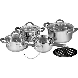 Набор посуды из 9 предметов Vitesse Ines (VS-2065) набор кухонной посуды vitesse vs 2010 2011 2012