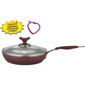 Сковорода с крышкой d 20 см Vitesse Renaissance (VS-2515)