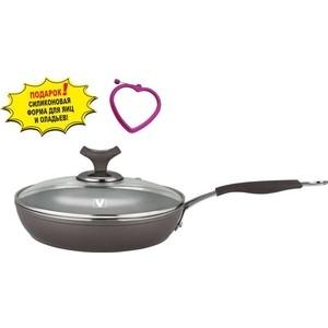 Сковорода с крышкой d 24 см Vitesse Renaissance (VS-2516)