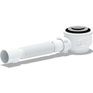 Сифон для душевого поддона АНИ пласт 1 1/2х40/50 клик-клак с гофрой (E415CL)