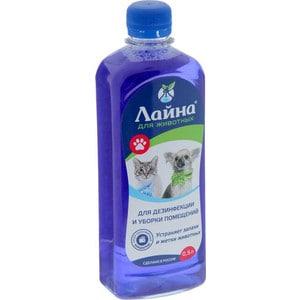 Средство Лайна для уборки и дезинфекции мест обитания домашних животных 500мл