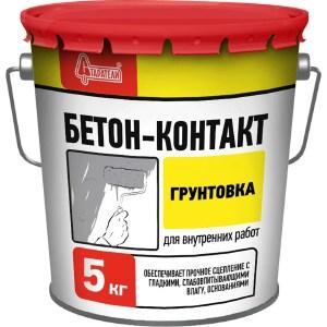 Грунтовка СТАРАТЕЛИ БЕТОН-КОНТАКТ 5кг.