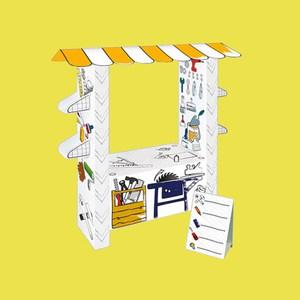 Mochtoys Картонный домик-раскраска ''Мастерская''