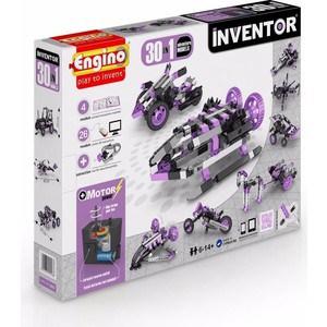 Купить со скидкой Конструктор Engino INVENTOR. Набор из 30 моделей с мотором. Приключения (3031)