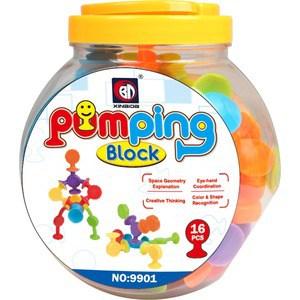 Конструктор Pumping Block 16 элементов (9901)