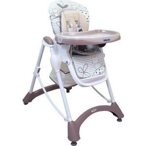 Стульчик для кормления BabyMix TOM LATTE, бежевый (UR-YQ-198 LATTE)