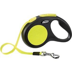 Рулетка Flexi Neon New Classic S лента 5м для собак до 15кг