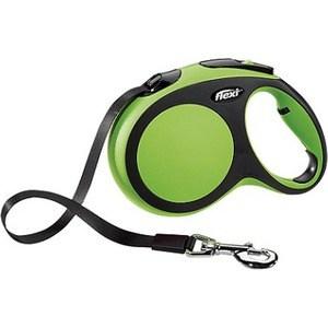 flexi new comfort рулетка l ремень 8м 50кг синяя Рулетка Flexi New Comfort L лента 5м черный/зеленый для собак до 60кг
