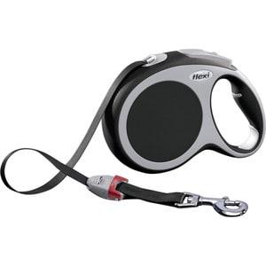 flexi new comfort рулетка l ремень 8м 50кг синяя Рулетка Flexi VARIO L лента 8м антрацит для собак до 50кг