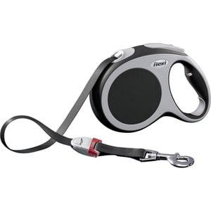 Рулетка Flexi VARIO L лента 5м антрацит для собак до 60кг