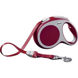 Рулетка Flexi VARIO L лента 5м красная для собак до 60кг поводки triol поводок рулетка
