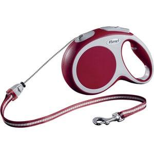 Рулетка Flexi VARIO M трос 8м красная для собак до 20кг