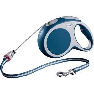 Рулетка Flexi VARIO M трос 8м синяя для собак до 20кг