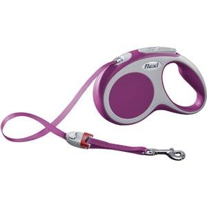 Рулетка Flexi VARIO S лента 5м розовая для собак до 15кг