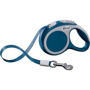 Рулетка Flexi VARIO XS лента 3м синяя для собак до 12кг