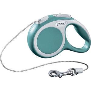 Рулетка Flexi VARIO XS трос 3м бирюза для собак до 8кг рулетка flexi new comfort xs трос 3м черный синий для собак до 8кг