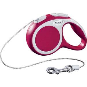 Рулетка Flexi VARIO XS трос 3м красная для собак до 8кг рулетка flexi vario xs трос 3м красная для собак до 8кг