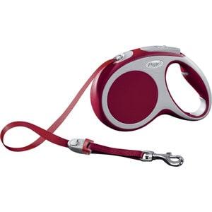 Рулетка Flexi VARIO М лента 5м красная для собак до 25кг flexi vario м до 25 кг лента 5 м антрацит
