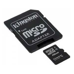 Kingston SDC4/16GB microsdhc kingston 4gb class 4 sdc4 4gbsp
