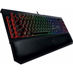 Игровая клавиатура Razer BlackWidow Chroma V2 (Yellow Switch) plus knot open back ruffle trim bodysuit