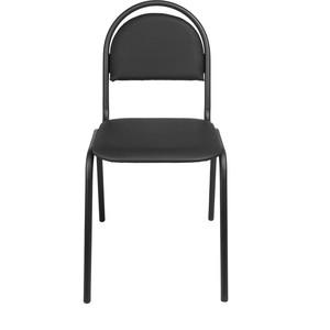 Стул Алвест Стандарт, к/з 311 черный, к-с черный стул офисный стандарт 470х560х820мм черный ткань металл