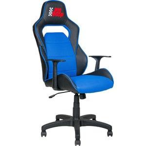 Кресло Алвест AV 140 PL (682 T) МК экокожа 223 черная/ TW сетка 452 синяя кресло алвест av 215 pl tw сетка 452 455 син черн