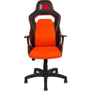 Кресло Алвест AV 140 PL (682 T) МК экокожа 223 черная/ TW сетка 456 оранжевая кухня монако 140