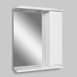 Зеркало-шкаф Am.Pm Like правый, 65 см, с подсветкой, с розеткой, белый, глянец (M80MPR0651WG)