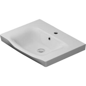 Раковина мебельная Am.Pm Like керамическая, 65 см, белый (M80WCC0652WG) раковина мебельная am pm like керамическая 80 см встроенная белый глянец m80wcc0802wg