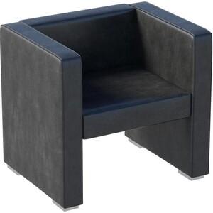 Кресло Мебелик Бриф экокожа чёрный. мебелик дуэт 6 чёрный тонированное