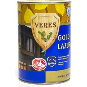 Антисептик для дерева VERES GOLD LASURA №17 золотой бор 0.9л.