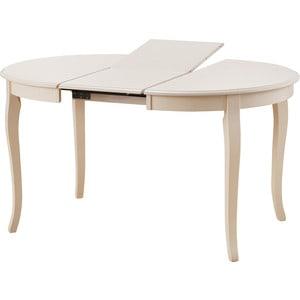Стол раскладной TetChair Milano (MN-T4EX) слоновая кость стул woodville mn milano 1081
