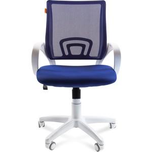 Офисное кресло Chairman 696 белый пластик TW-10/TW-05 синий supra mw g2119 tw