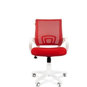 Офисное кресло Chairman 696 белый пластик TW-19/TW-69 красный офисноекресло chairman 698 серый пластик tw красный