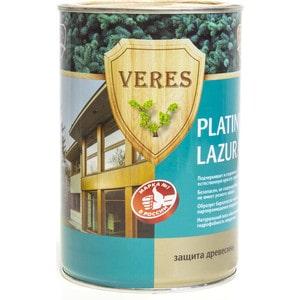 Антисептик для дерева VERES PLATINUM LAZURA № 2 сосна 0.9л. антисептик для дерева veres platinum lazura 2 сосна 2 7л