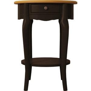 Стол кофейный Etagerca Leontina ST9331ETG/BLK 1 ящ стол кофейный etagerca leontina 1 ящ st9331etg l
