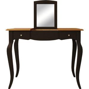 Стол туалетный с откидным зеркалом Etagerca Leontina ST9309ETG/BLK