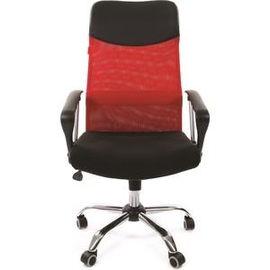 Офисное кресло Chairman 610 15-21 черный + TW красный