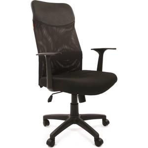 Офисное кресло Chairman 610 LT черный цена