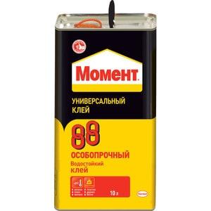 Клей водостойкий МОМЕНТ 88 универсальный особопрочный 10л.