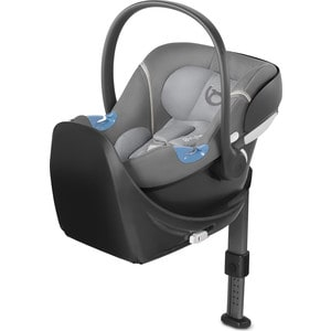 Автокресло Cybex Aton M + Base Manhattan Grey (517002255) автокресло cybex aton basic фиолетовый 514101021 514101011