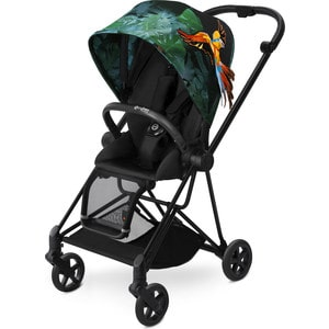Коляска с прогулочным блоком и рамой Cybex MIOS Black Birds of Paradise (517000977) bedard tony birds of prey club kids