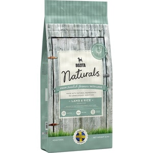Сухой корм BOZITA Naturals Sensitive Lamb & Rice 22/12 с ягненком и рисом для взрослых собак с чувствительным пищеварением 12кг (13642) douk audio pure handmade hi fi psvane 300b tube amplifier audio stereo dual channel single ended amp 8w 2 finished product
