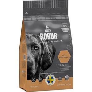 Сухой корм BOZITA ROBUR Adult Maintenance 27/15 для взрослых собак с нормальным уровнем активности 4,25кг (14333) сухой корм bozita robur mother