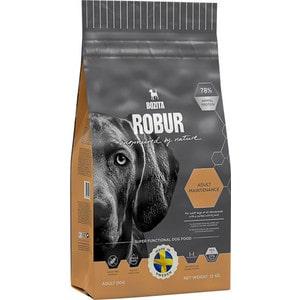 Сухой корм BOZITA ROBUR Adult Maintenance 27/15 для взрослых собак с нормальным уровнем активности 13кг (14342) сухой корм bozita robur mother