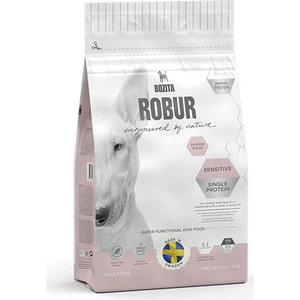 Сухой корм BOZITA ROBUR Sensitive Single Protein Salmon & Rice 21/11 с лососем и рисом для собак с чувствительным пищеварением 3кг (14233) сухой корм bozita robur mother